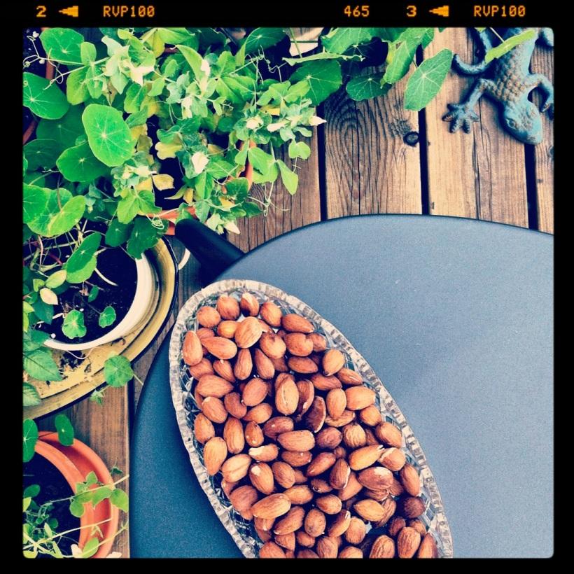 Rostade mandlar