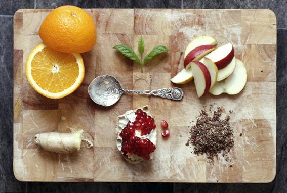 nyttig frukostdrink hälsdrink mynta