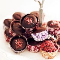 Choklad- och kolapraliner med havssalt!