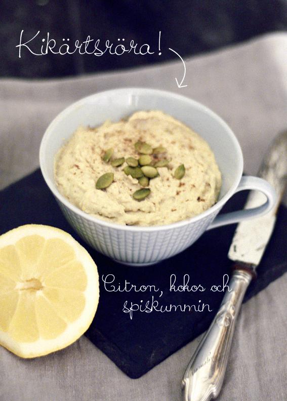 chickpeas cream tillbehör röra hummus