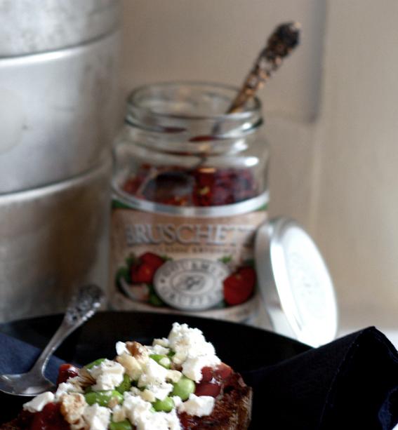 tomatröra antipasti bruschetta
