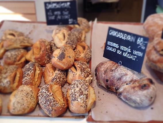 bread rosendals cafe trädgård butik