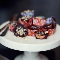 Chokladpraliner med jordnötssmör!