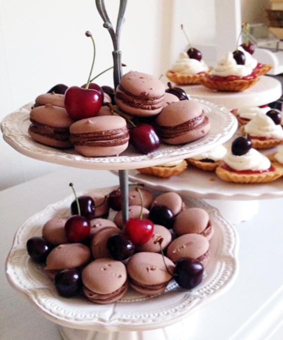 choklad macaron