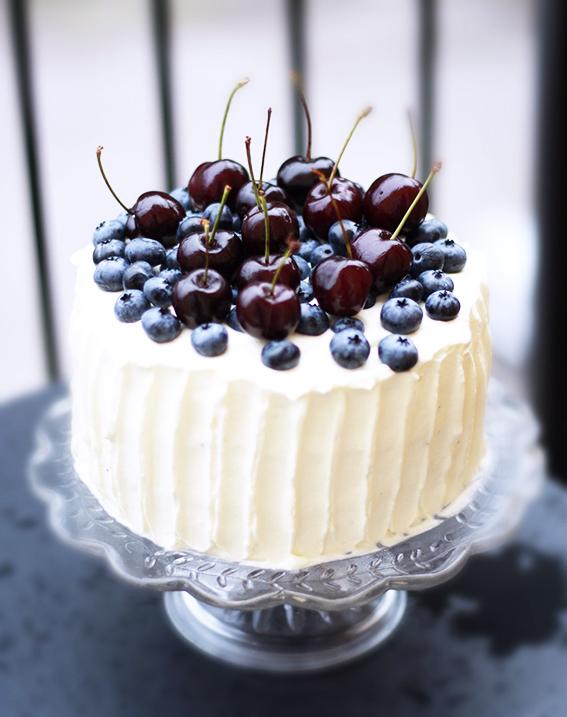 blåbärstårta blueberry