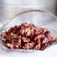 Rostade valnötter i soja
