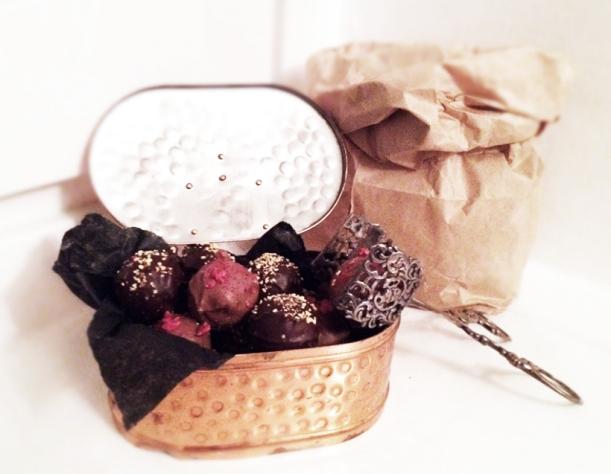 pralin choklad