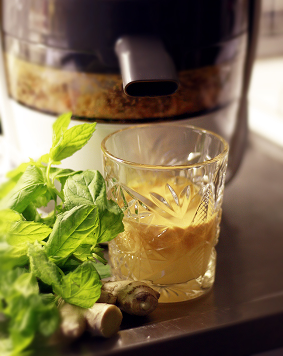 juicepress apelsinjuice ingefära