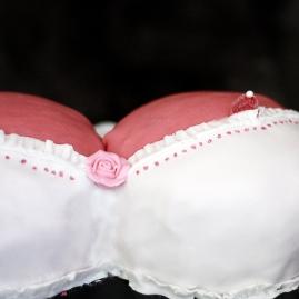 bröst tutt tårta dekorering