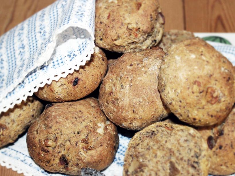 nyttigt mörkt bröd recept