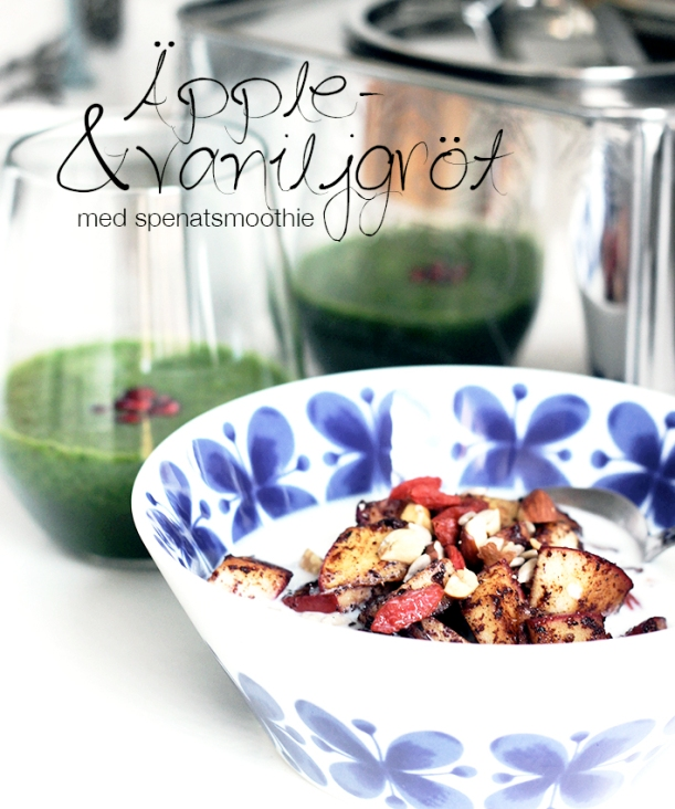 äpple gröt porridge frukost