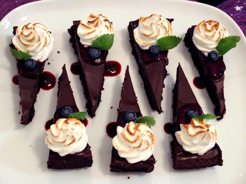 italiensk maräng chokladkaka