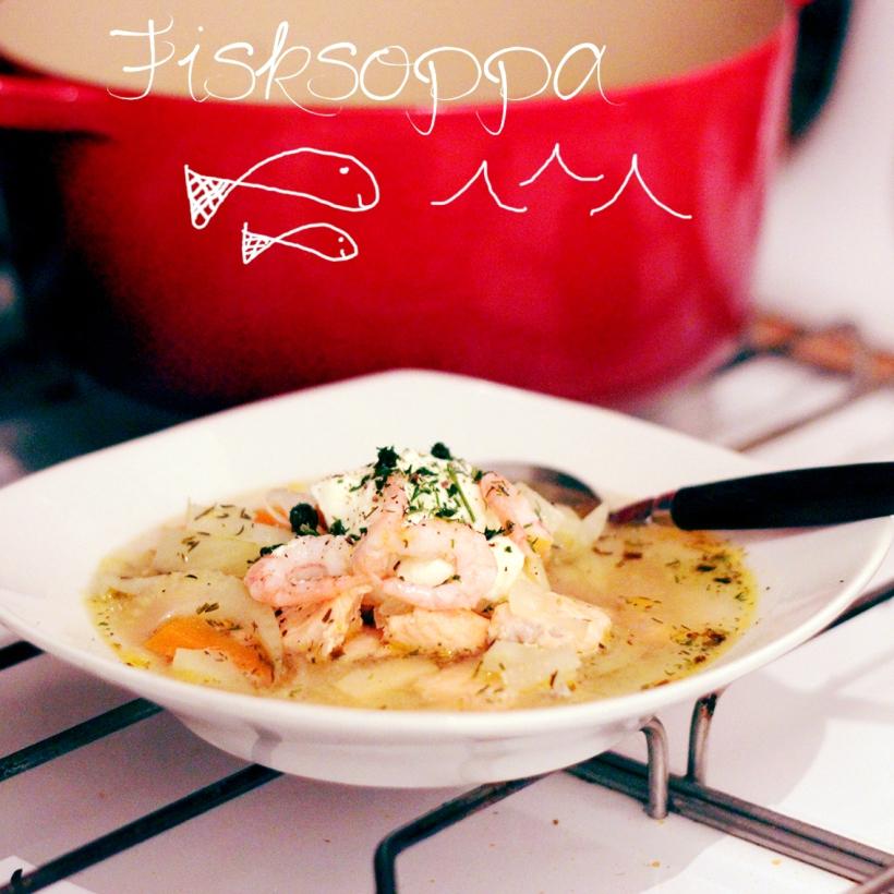 fisksoppa lax