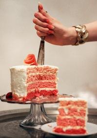 skiftande bottnar tårta