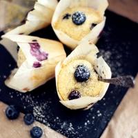 Blåbärsmuffins med kardemumma!