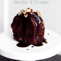 Rödbetskaka med valnötter & choklad!