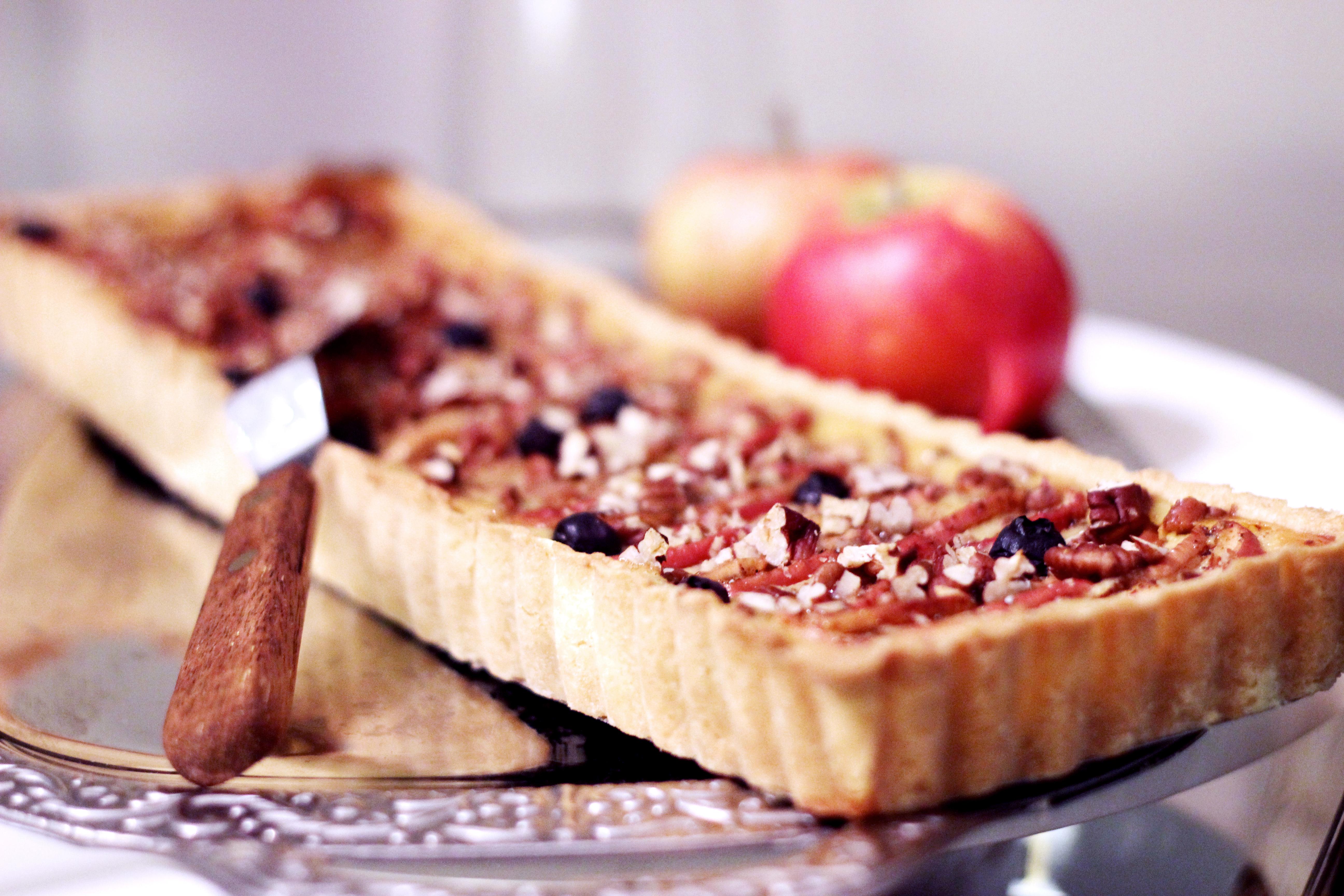 godaste äppelpajen med mandelmassa