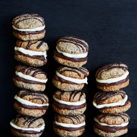 Hasselnöts whoopies!!